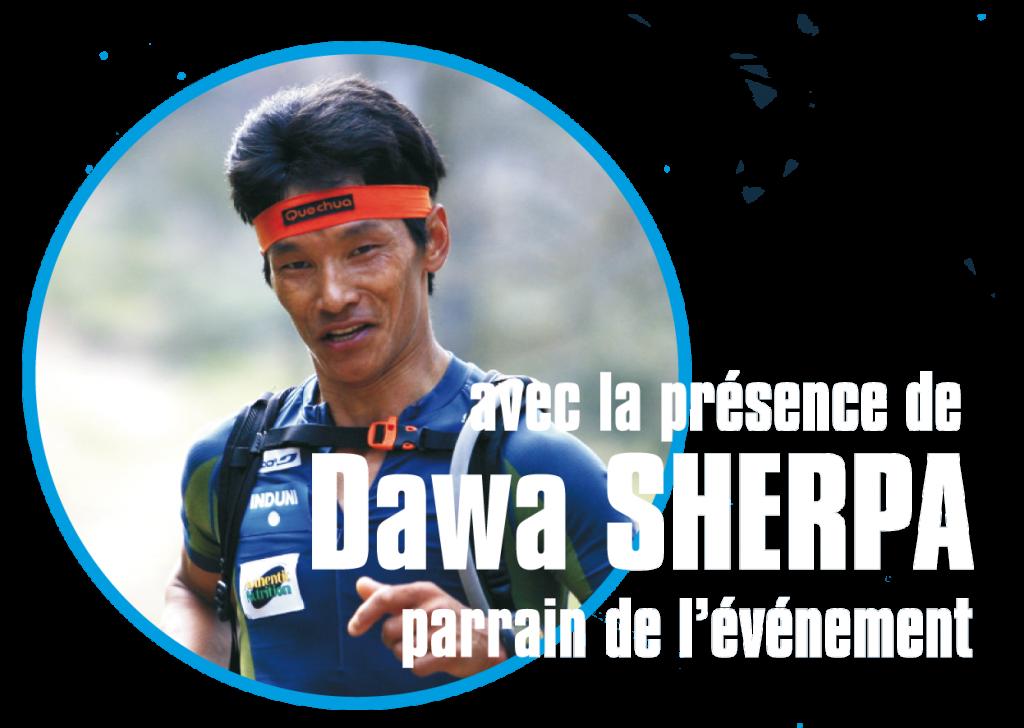Départ Trail de Sens 130 km avec Dawa Sherpa