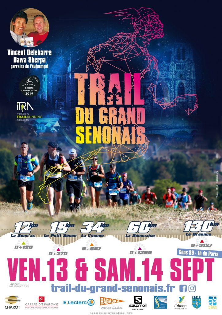 Affiche Trail du Grand Sénonais