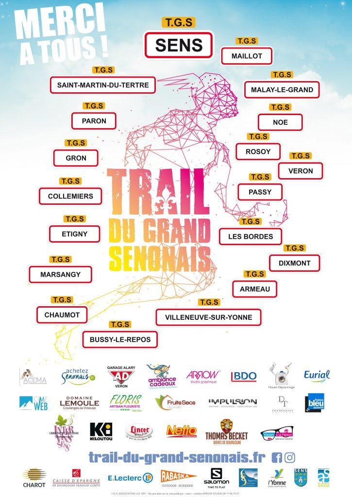 Partenaire Trail du Grand Sénonais 2019