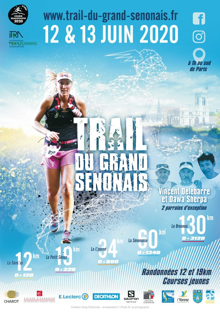 Affiche Trail du Grand Sénonais